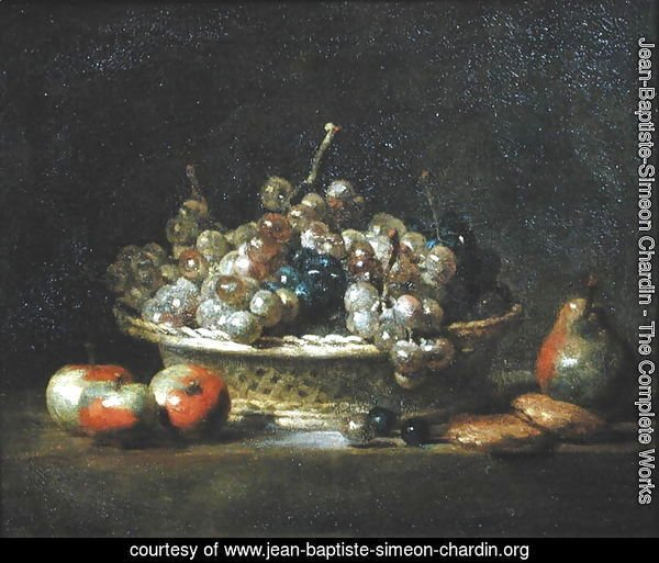 Basket of Grapes, 1765