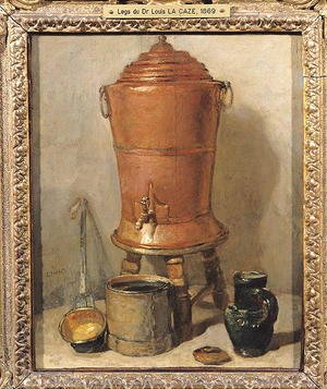 Jean-Baptiste-Simeon Chardin - The Copper Drinking Fountain, c.1733-34