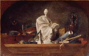 Jean-Baptiste-Simeon Chardin - Attributes of the Arts, 1765