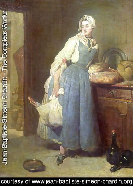 The Kitchen Maid with Provisions, 1739