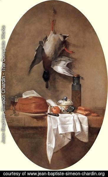 Still Life With Duck, 1764