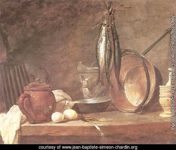 Still life: Fast Day Menu, 1731