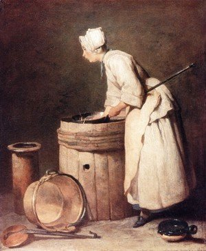 Jean-Baptiste-Simeon Chardin - The Scullery Maid, 1738