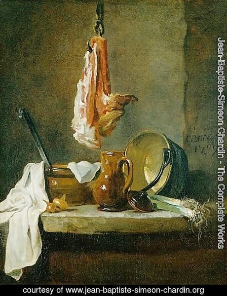 Still Life with a Rib of Beef, 1739