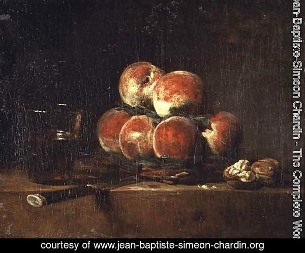 Basket of Peaches, 1768