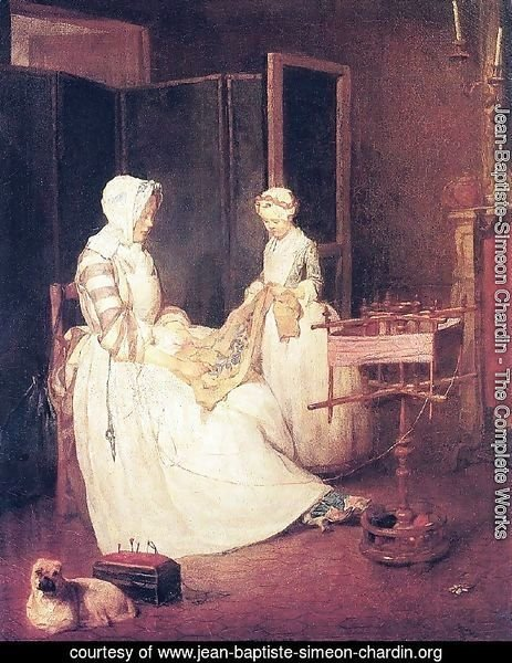 The Laborious Mother, c.1740
