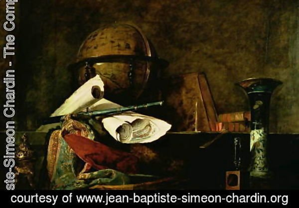 Jean-Baptiste-Simeon Chardin - Allegory of Science