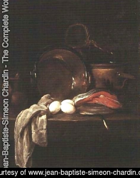 Still Life: The Kitchen Table, c.1755-56