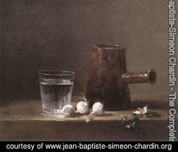 Jean-Baptiste-Simeon Chardin - Water Glass and Jug