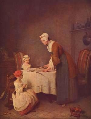 Jean-Baptiste-Simeon Chardin - The grace