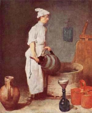 Jean-Baptiste-Simeon Chardin - The washing up guy in the pub