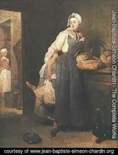 Jean-Baptiste-Simeon Chardin - Return from the Market 1739