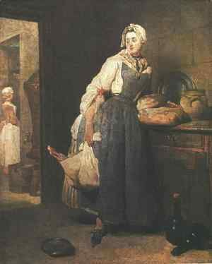 Return from the Market 1739