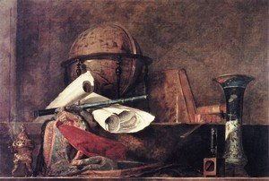 Jean-Baptiste-Simeon Chardin - The Attributes Of Science