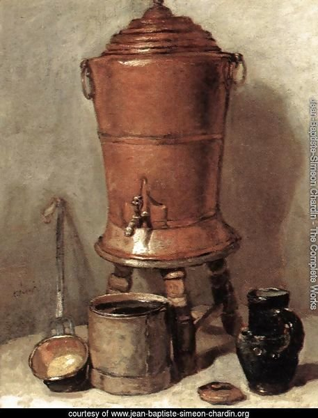 The Copper Drinking Fountain c. 1734