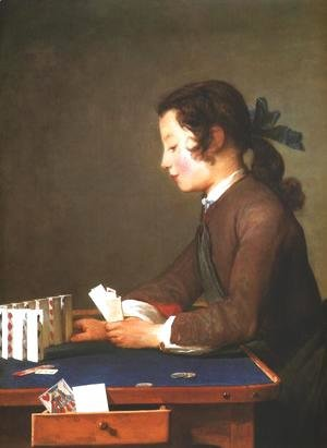 Jean-Baptiste-Simeon Chardin - House of Cards